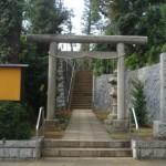 尾山台の宇佐神社と八幡塚古墳