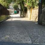 寮の坂ほか尾山台の無名な坂道たち
