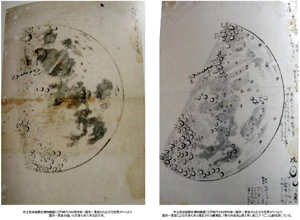 国友一貫斎の天体観測図