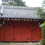 代沢阿川家の赤門