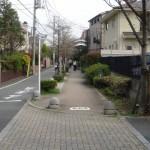 谷川緑道と二子玉川諏訪神社
