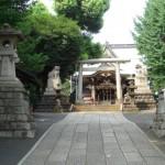 高田馬場(西早稲田)の諏訪神社