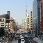 浜松町界隈散策(竹芝通りと増上寺大門)