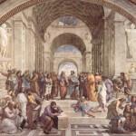 「アテネの学堂」とは時代の知の多様性を描くことですよ