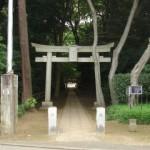 喜多見氷川神社と祷善寺跡、喜多見慶元寺