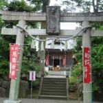 調布深大寺の青渭神社