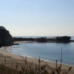 三浦半島八景のひとつ、葉山の長者ヶ崎海岸