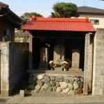 脇町の庚申塔と三崎道・浦賀道分岐路、七桶の伝説