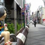 調布天神通り商店街の鬼太郎オブジェ