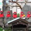鎌倉由比ガ浜通りの六地蔵