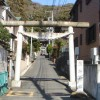 逗子山の根地区の熊野神社