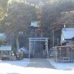 走水神社と観音崎公園