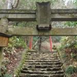 高尾の千代田稲荷神社、焼失していたのか